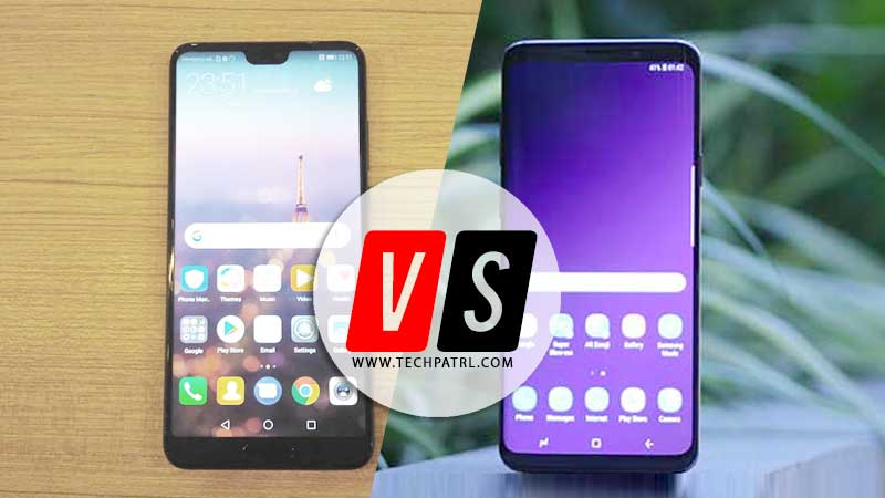 Huawei P20 Pro vs Galaxy S9 Plus