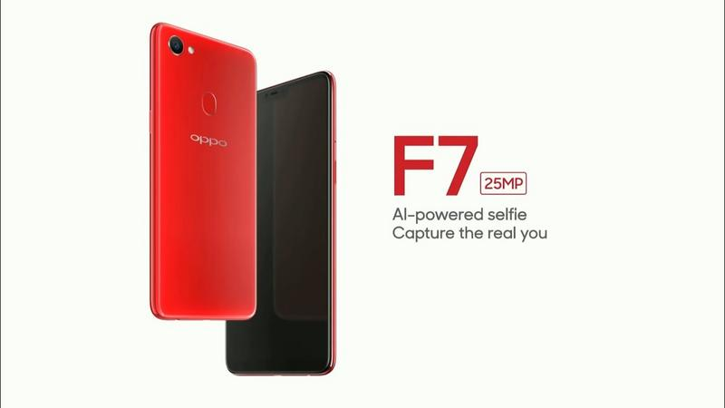 OPPO F7 now official with 25MP selfie camera and Android 8.1 Oreo on top