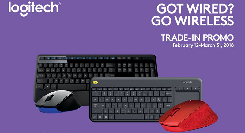 Logitech Philippines' trade-in & trade-up promo 'til March 31, 2018