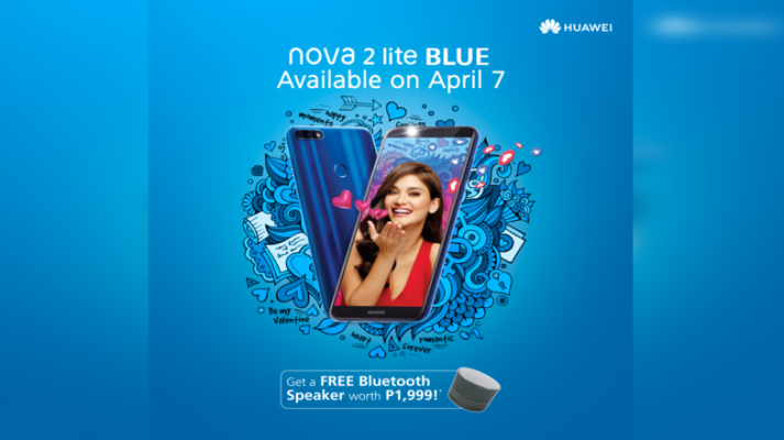Huawei Nova 2 Lite in Blue color now available nationwide!