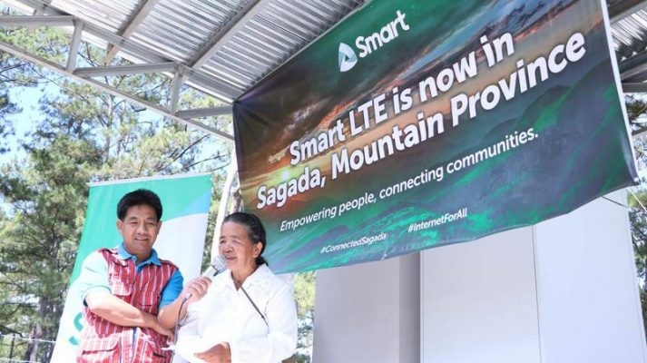 Smart LTE-A now available in Sagada, Mountain Province