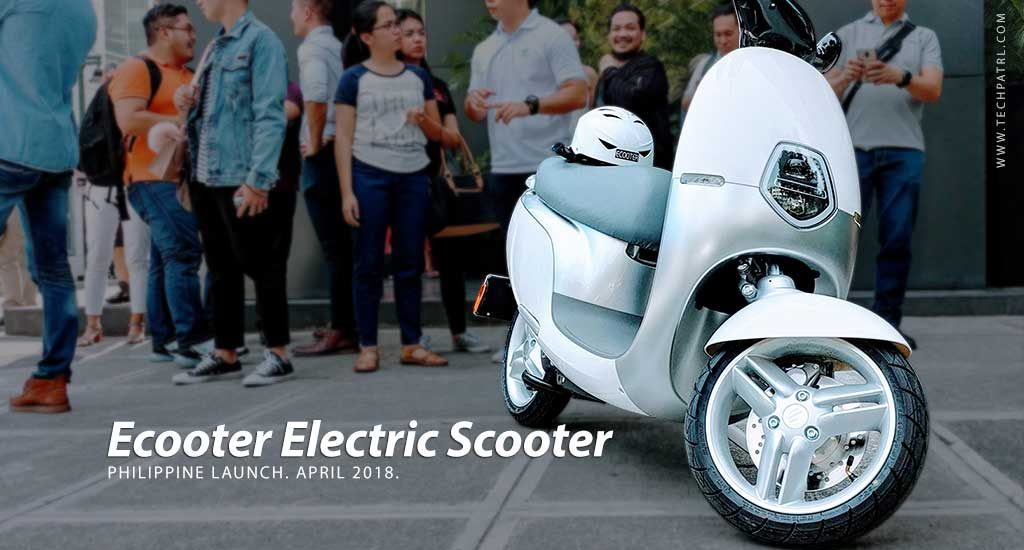 ECOOTER Electric Scooter arrives in PH