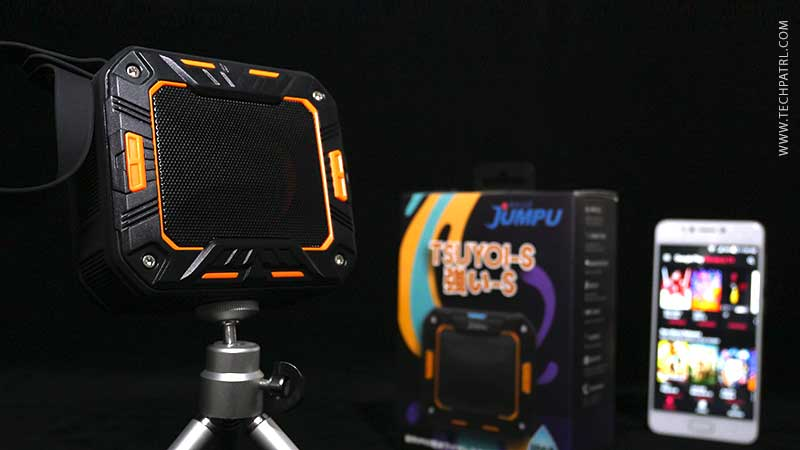 JUMPU TSUYOI-S IP65 Water Resistant BT Speaker Review & Giveaway