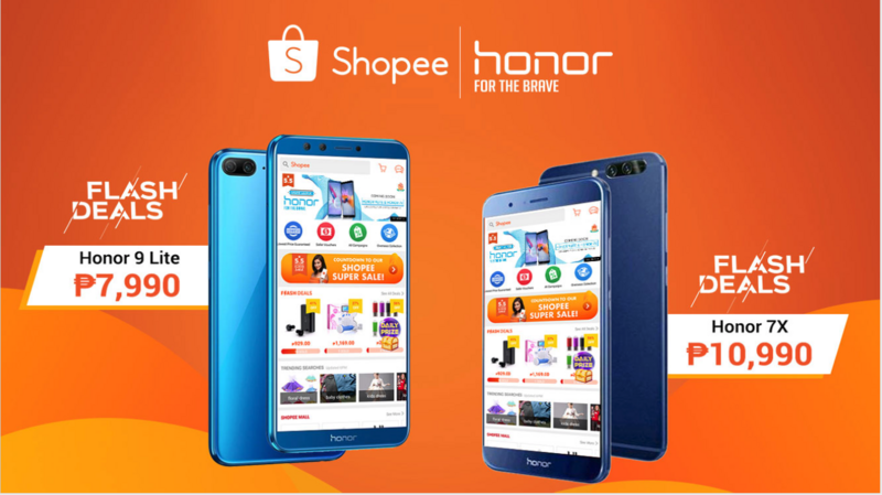 Shopee Philippines launches the Honor 7X and Honor 9 Lite