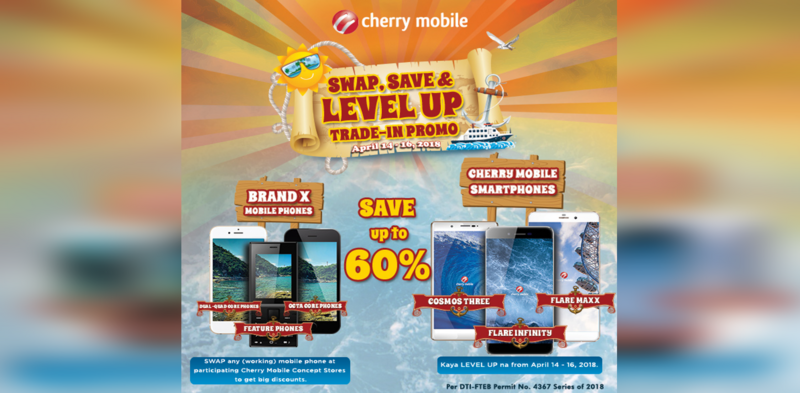 """DEAL: Cherry Mobile's """"Swap, Save and Level Up"""" Trade-In Promo!"""