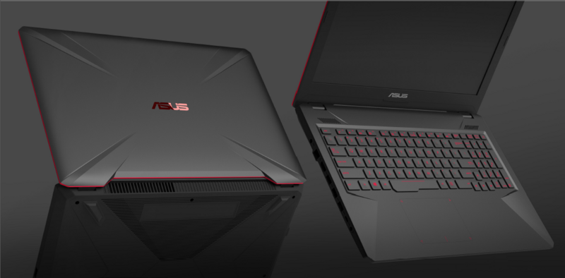 ASUS TUF FX504 gaming laptops now official with solid chassis and 120Hz IPS screen