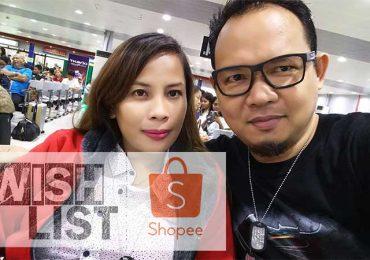 Tito Raffy's Top 10 Shopee Item Wishlist