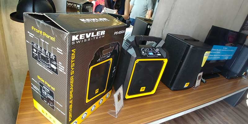 Kevler Professional Quality Audio Systems now available for the home
