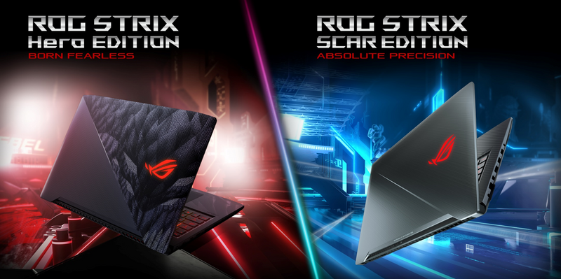 ASUS ROG Strix GL503 officially unveils with improved processor and display features