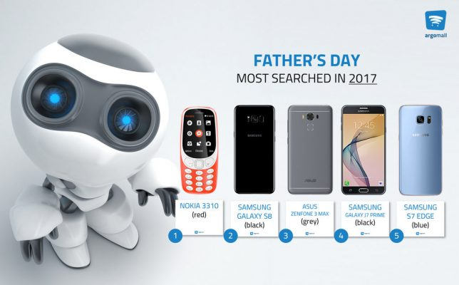 Photo of Argomall data shows smartphones Fathers want