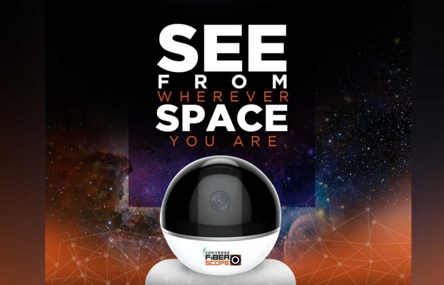 Photo of Converge ICT launches Fiber Scope; 360-degree indoor CCTV security camera
