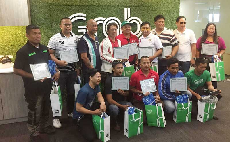Grab Drivers are Manila's Road Rockstars