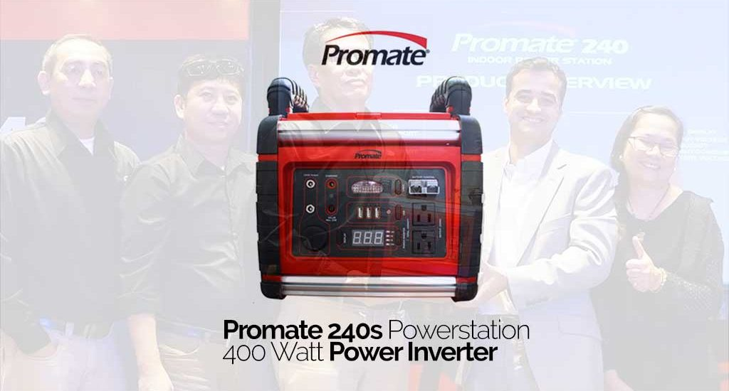 Portable Powerstations Promate 240s and 120  now available in the market