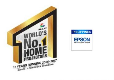 Epson named as world's number one projector brand in Philippines and worldwide for 17 consecutive years