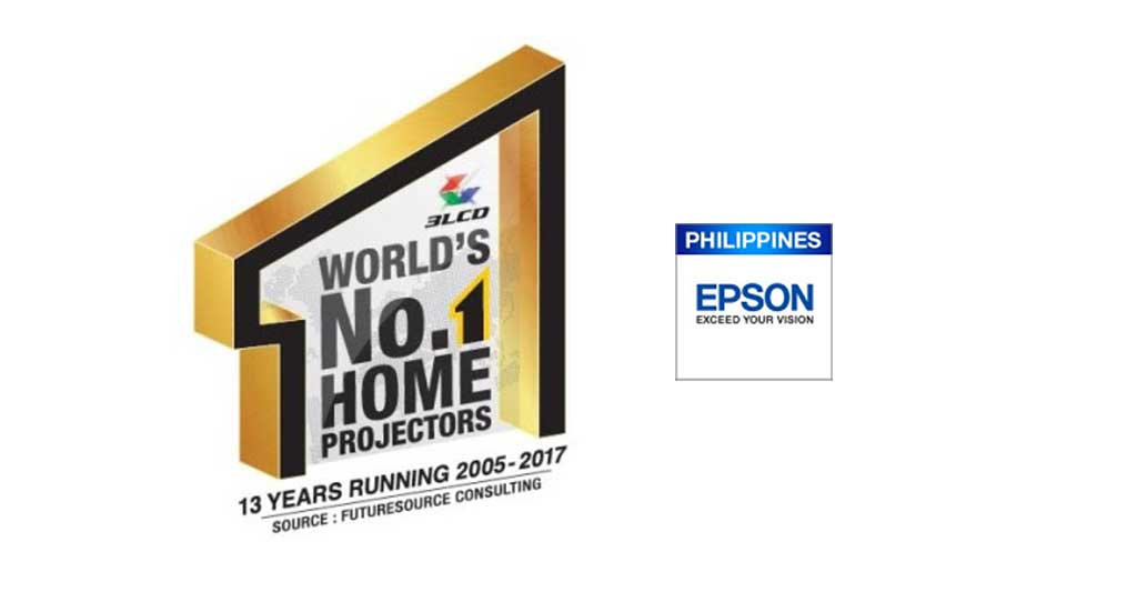 Photo of Epson named as world's number one projector brand in Philippines and worldwide for 17 consecutive years