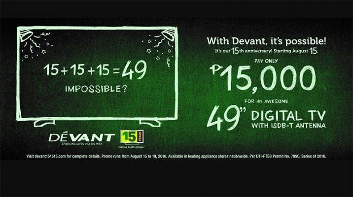 "Homegrown TV brand Devant celebrates with a bang via ""15.15.15"""