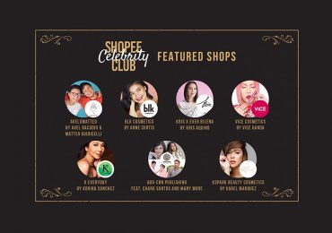 "Top Local Celebrity collaborate with Shopee for the ""Shopee Celebrity Club"""