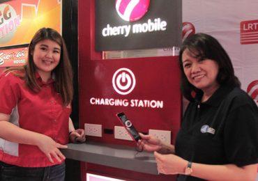 Cherry Mobile Charging Kiosks now live at LRT-1