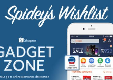 Spidey's Shopee GadgetZone Wish List