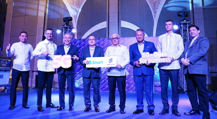 Smart and Ericsson: We will deploy 5G in PH and make it live on the first half of 2019
