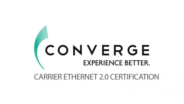 Converge ICT receives Carrier Ethernet 2.0 certification