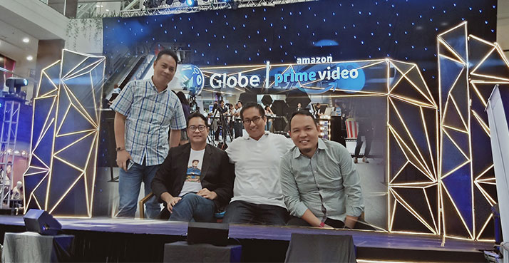 P150 per month for Amazon Prime Video and Twitch Prime thru Globe Postpaid plans