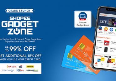 Shopee offers Credit Card Payment in time for the Shopee Gadget Zone launch