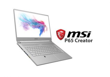 MSI Debuts P65 Creator for the Creative Minds