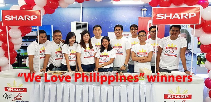 "Sharp's announces Luzon winners for ""We Love Philippines"" campaign"