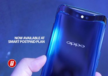 OPPO FindX is now available on Smart GigaX Plan
