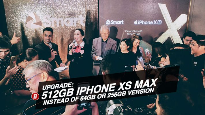 Smart launches iPhone XS and XS Max; Treats loyal subscribers to 512GB upgrade instead of 64GB model