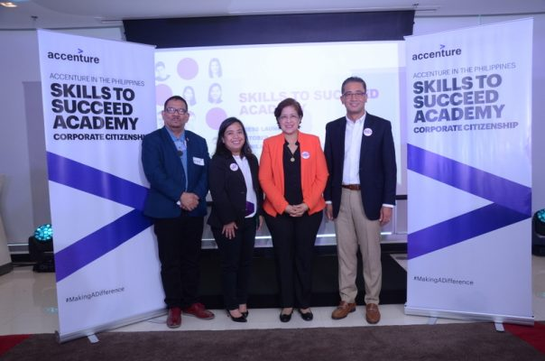 Accenture teams with TESDA and NGO to launch free online learning program for jobseekers in PH