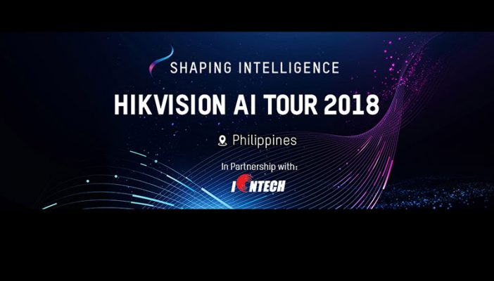 HIKvision AI Tour 2018 makes its stop in PH