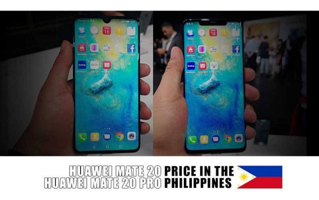 Huawei Mate 20 And Mate 20 Pro Pre Order Official Price In The