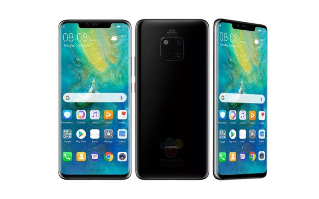 This is the Huawei Mate 20 Series