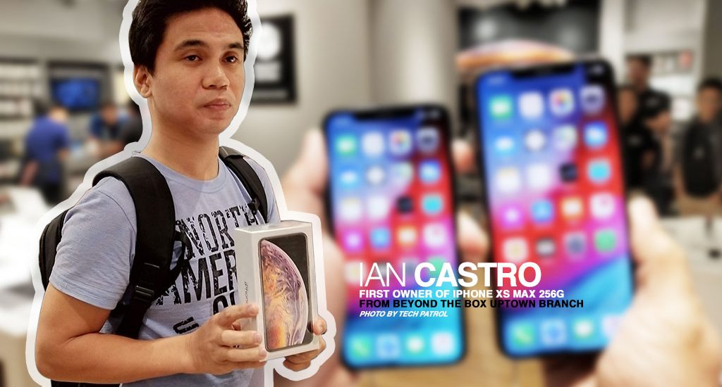 Beyond The Box gave away P10,000 worth of free items for first buyers of iPhone XS and XS Max