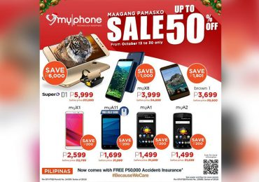 MyPhone rolls out Early Christmas Sale; up to 50% Off