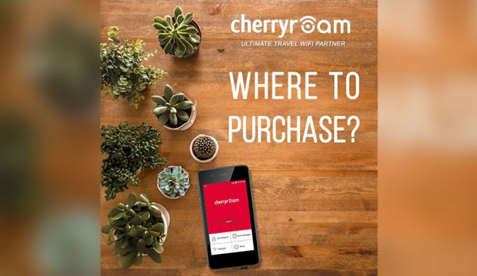Where to buy Cherry Roam travel WiFi