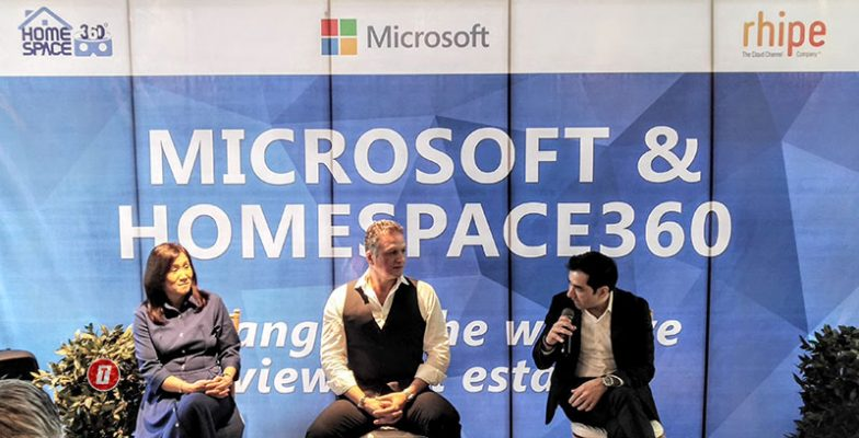 Immersive Virtual Tours made possible by Microsoft and HomeSpace360