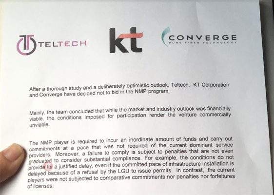 Photo of Converge is NOT bidding for the Third Telco