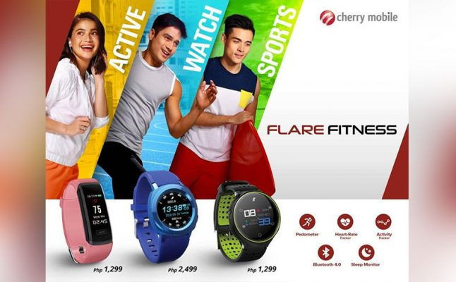 Cherry Mobile outs Three Fitness Trackers: Flare Active, Flare Sport and Flare Watch