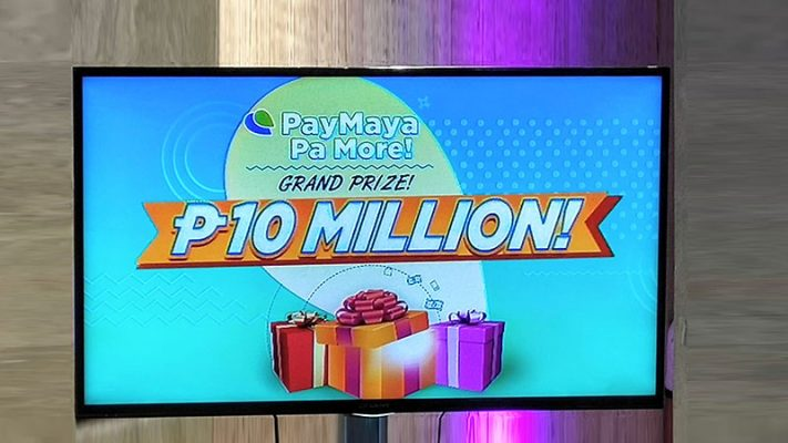 PayMaya is giving away P10M to one lucky subscriber