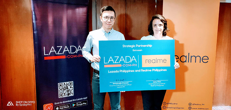 Photo of Realme signs partnership with Lazada in the Philippines; Official arrival on November 29 with Realme C1