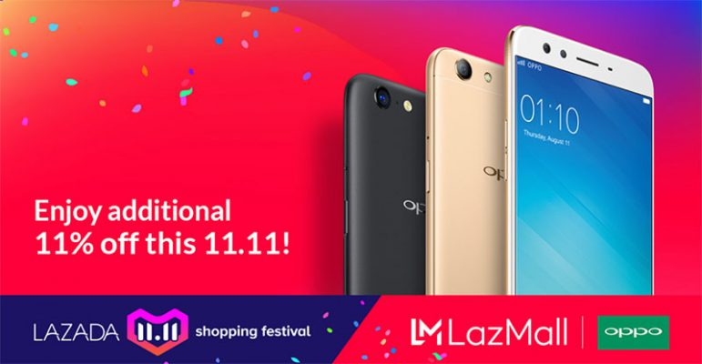 Lots of FREEBIES from OPPO at Lazada 11.11; Enjoy additional 11% from OPPO Christmas Bundle