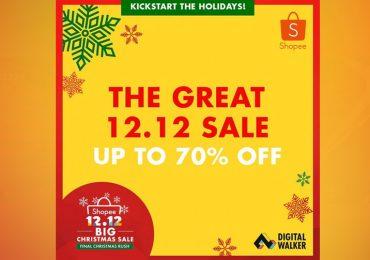Digital Walker's Super Saver Sale on Shopee 12 12