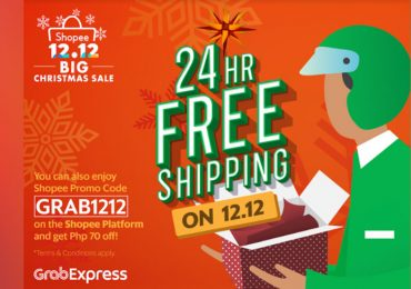 Grab Joins Shopee's Biggest Christmas Sale of the Year with special treats for shoppers