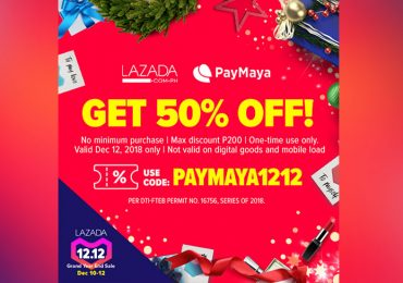 Use PayMaya for a back-to-back discounts and cashbacks when you #ShopPaMore