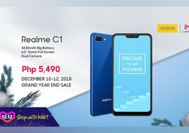 Realme C1 sale is extended! Check the wide-activities on Lazada 12.12