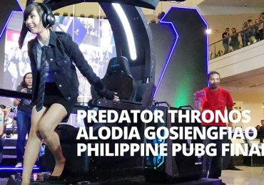 Acer Predator PUBG Finals, Preview of Predator Thronos with Alodia Gosiengfiao