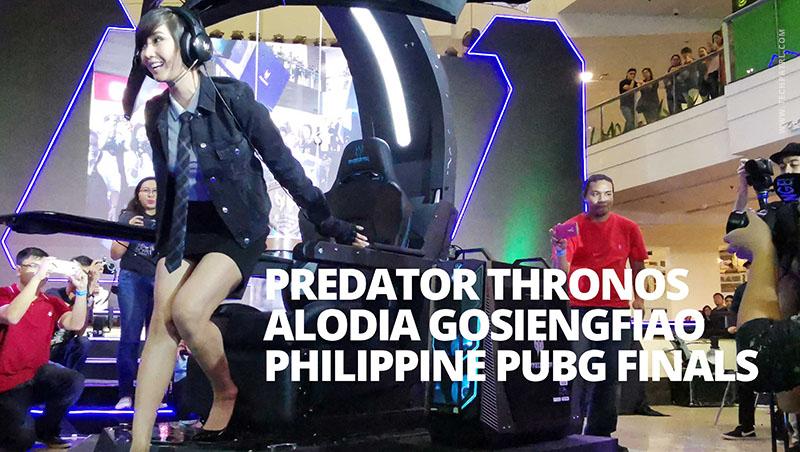 Photo of Acer Predator PUBG Finals, Preview of Predator Thronos with Alodia Gosiengfiao